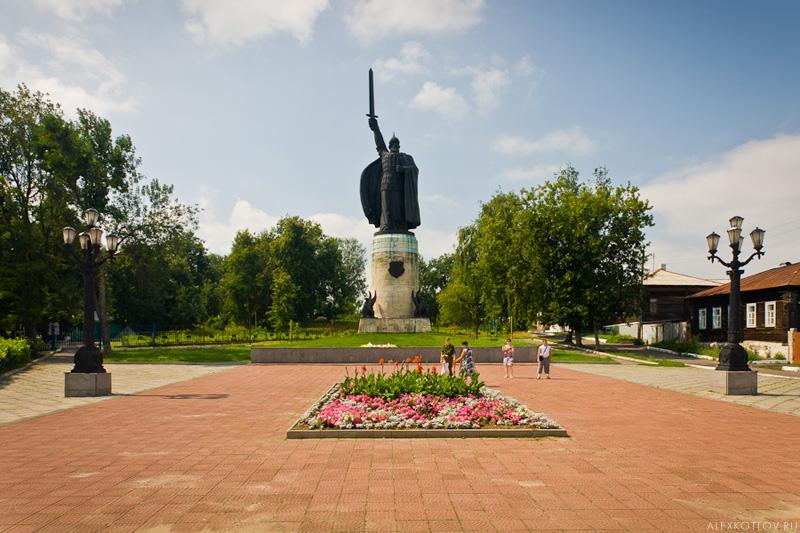 Новость. Выезд в Муром. Памятник Илье Муромцу. 6117
