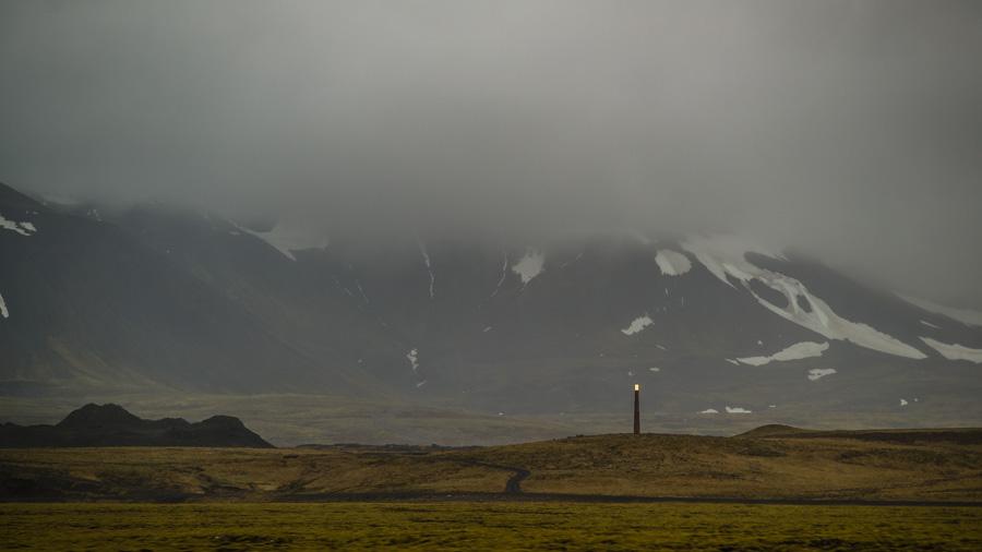 Исландия день первый. Вдоль дороги