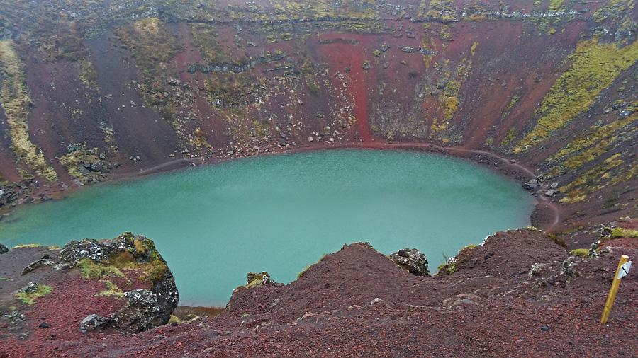 Исландия день первый. Кратер Керид
