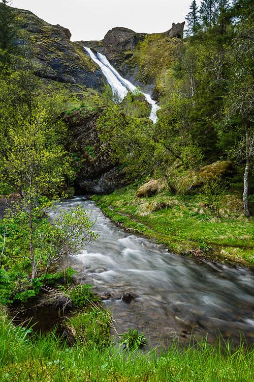 Исландия день второй. Водопад Систрафосс 0005