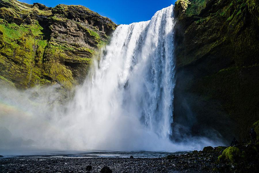 Исландия день второй. Водопад Скогафосс 9716