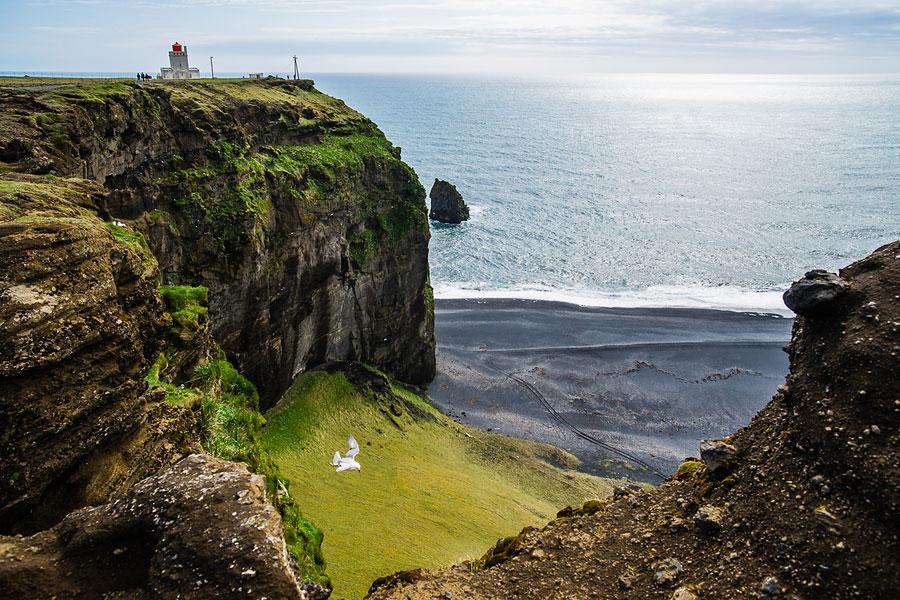 Исландия день второй. Вид с мыса Дирхолаэй 9889