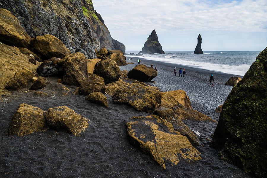 Исландия день второй. Черный пляж, камни и Пальцы Тролля 9953