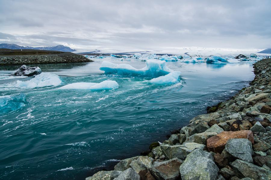 Исландия день третий. Вид из-под моста на лагуну Йокулсарлон 0072