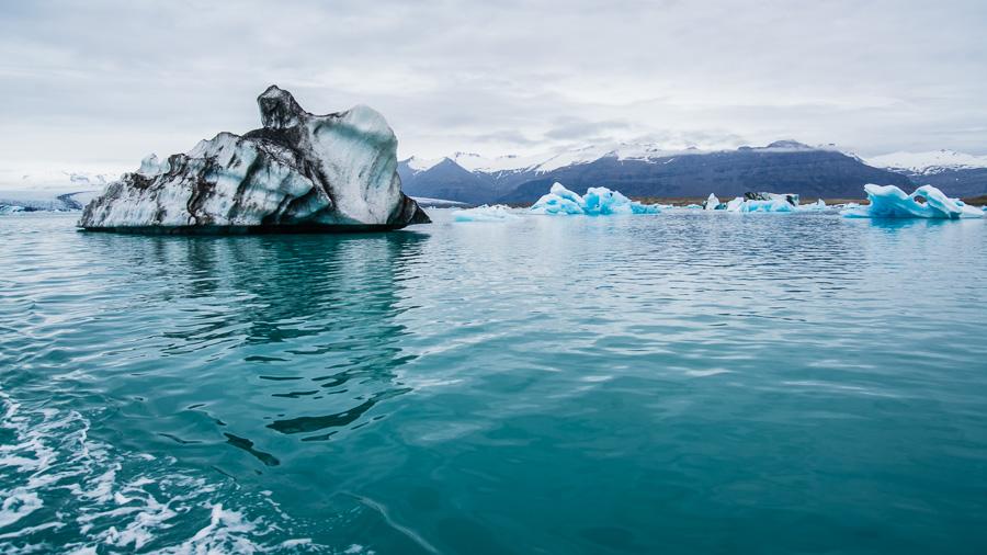 Исландия день третий. Йокулсарлон, вид с воды 0116