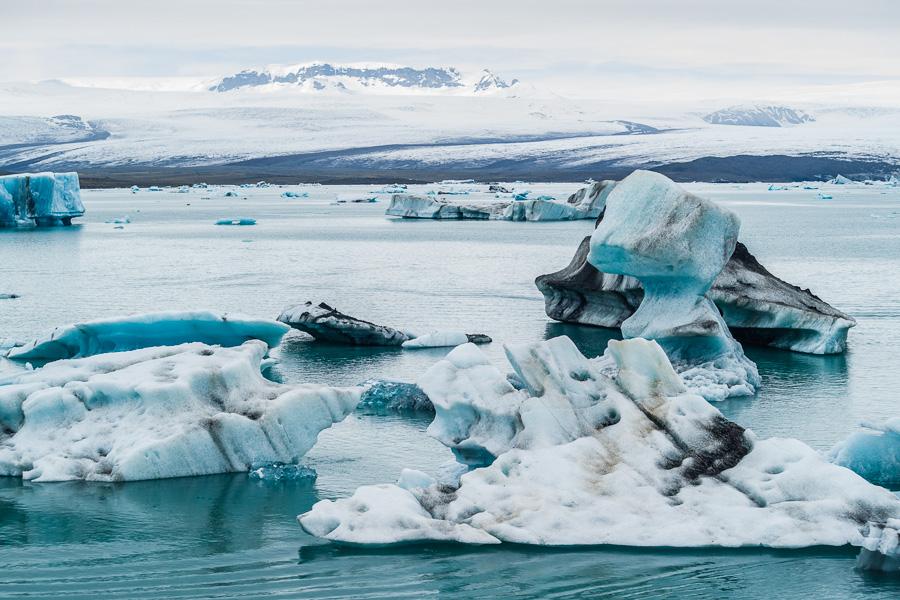 Исландия день третий. Йокулсарлон, вид с берега 0118