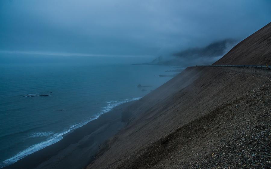 Исландия день третий. Океан в тумане 0238
