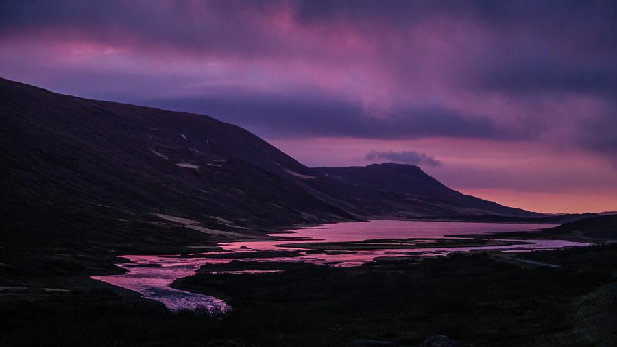 Исландия день третий. Закат на дороге 95 0251