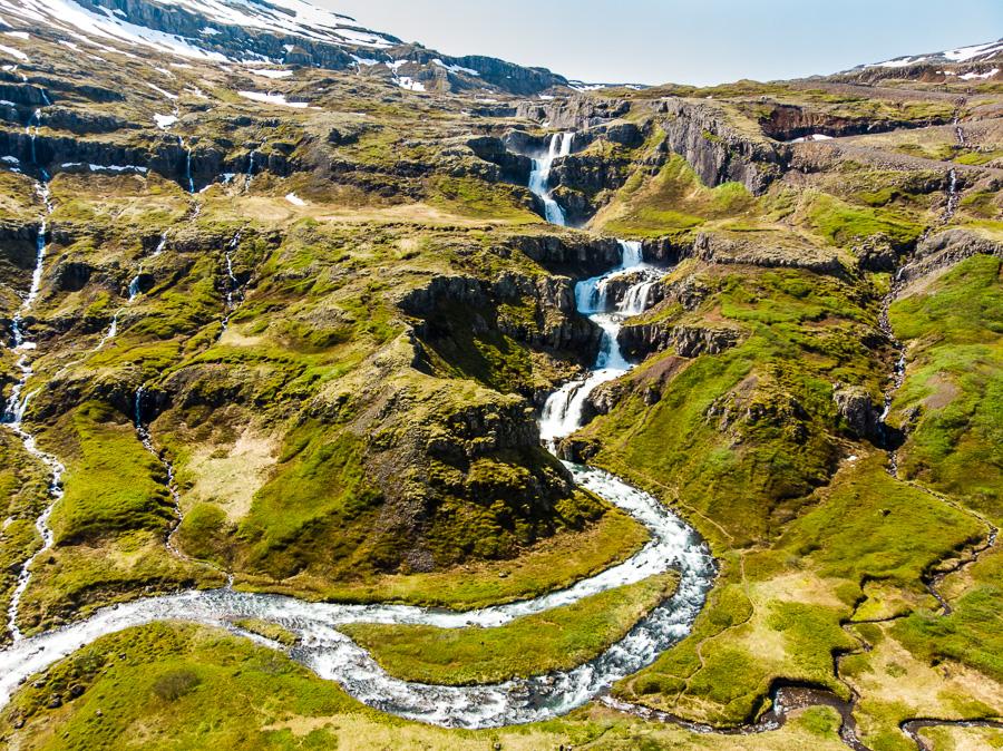 Исландия день четвертый. Клифбреккуфоссар с дрона