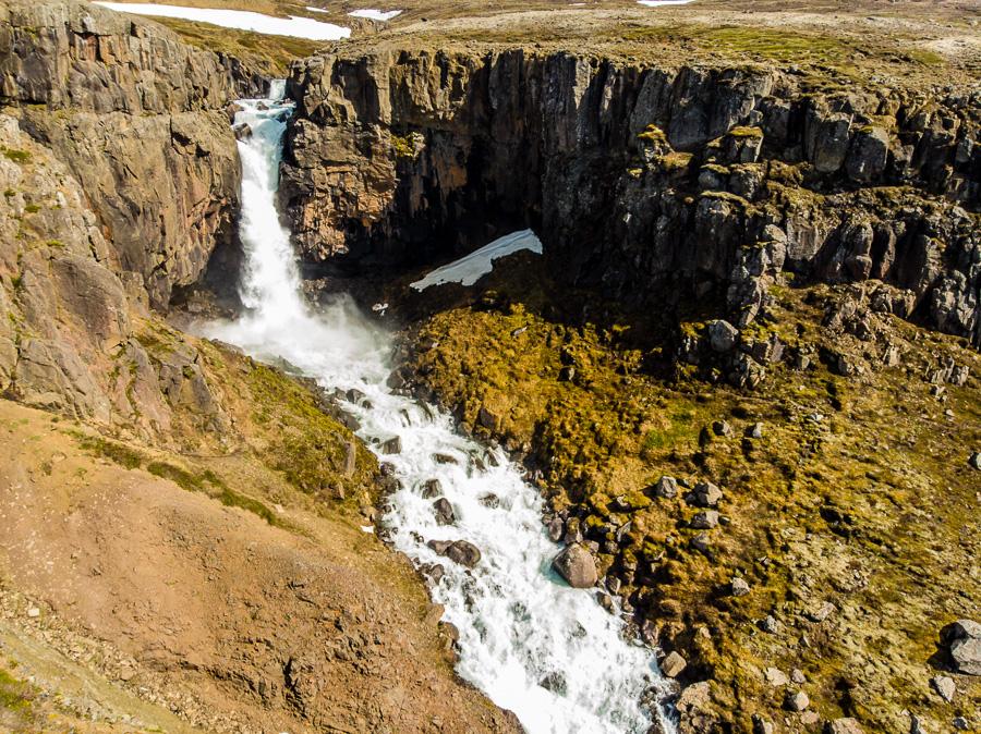 Исландия день четвертый. Фардагафосс с дрона