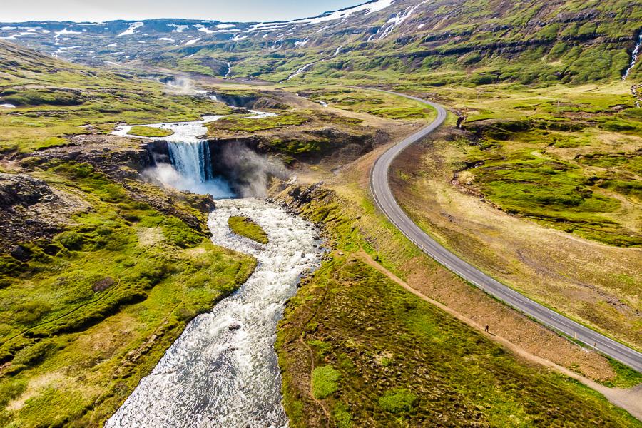 Исландия день четвертый. Гуфуфосс с дрона