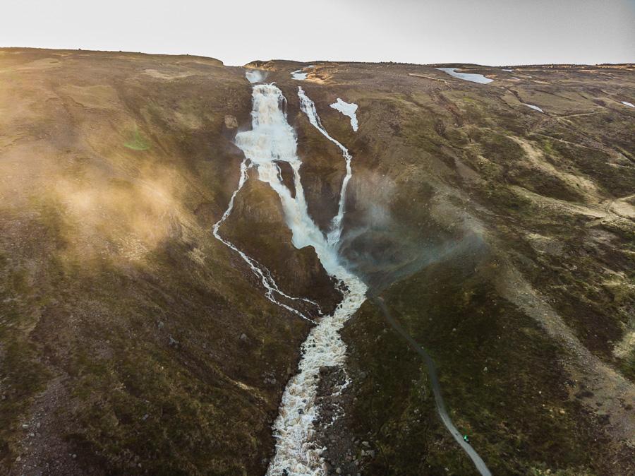 Исландия день четвертый. Рьюканди с дрона