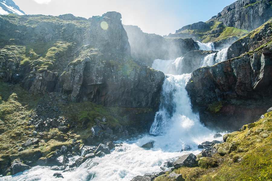 Исландия день четвертый. Клифбреккуфоссар