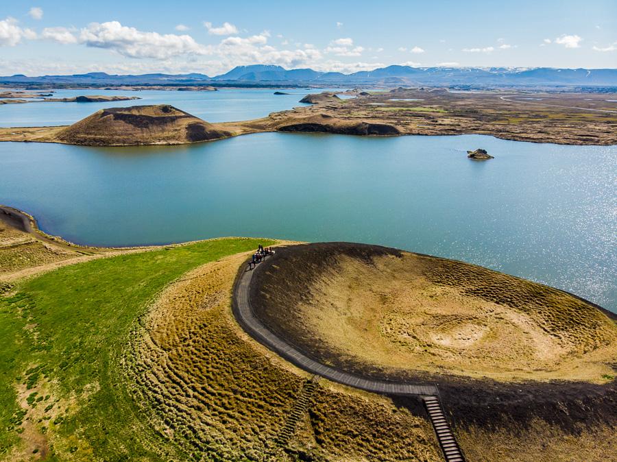 Исландия день пятый. Псевдократеры с дрона 0075