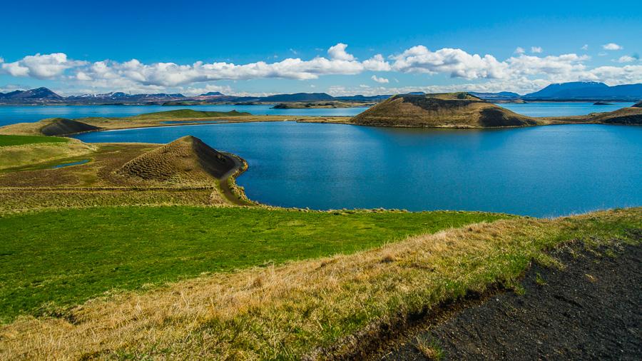Исландия день пятый. Вид от псевдократеров 0381