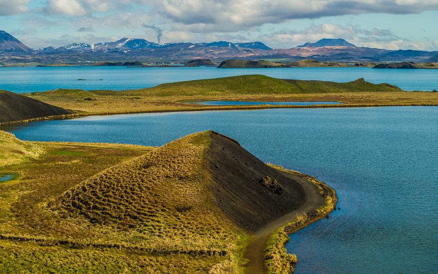 Исландия день пятый. Вид от псевдократеров 0387