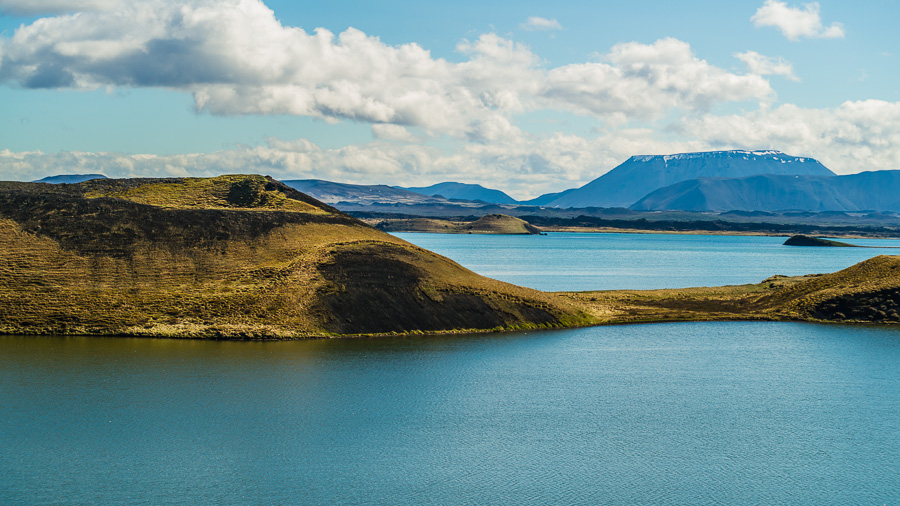 Исландия день пятый. Вид от псевдократеров 0388