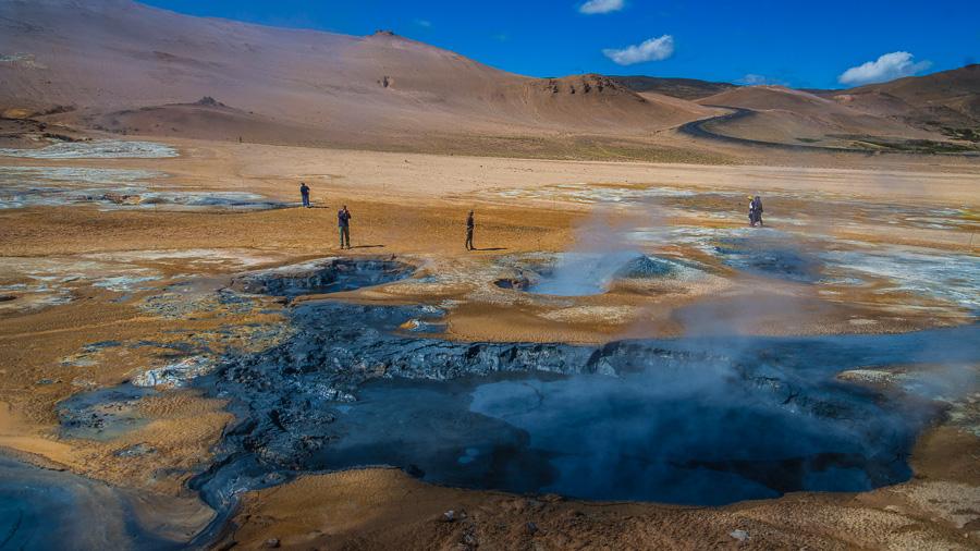 Исландия день пятый. Геотермальная зона 0407
