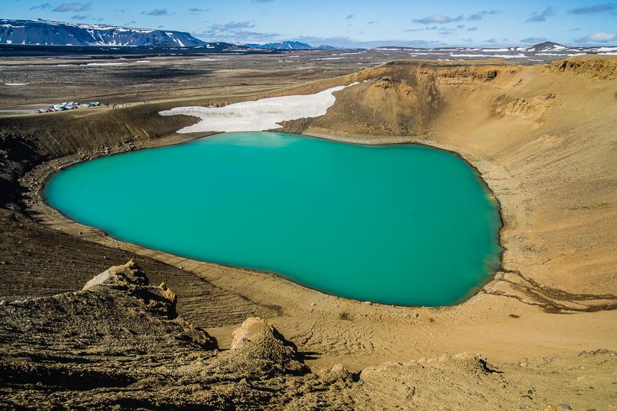 Исландия день пятый. Озеро Вити вулкана Крафла 0435