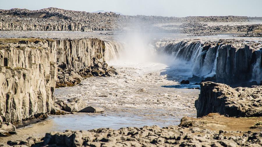 Исландия день пятый. Селфосс издали 0470