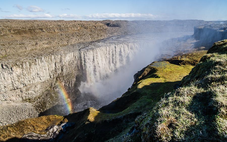 Исландия день пятый. Деттифосс издали 0500