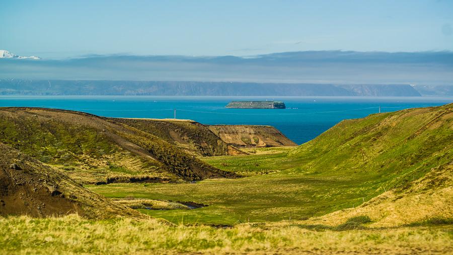 Исландия день шестой. Вид вдоль дороги