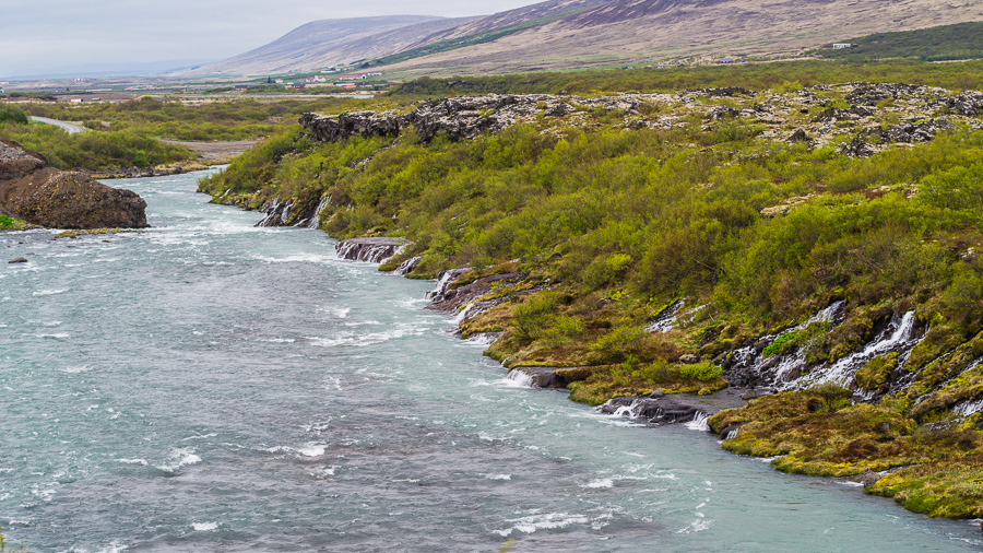 Исландия день седьмой. Храунфоссар