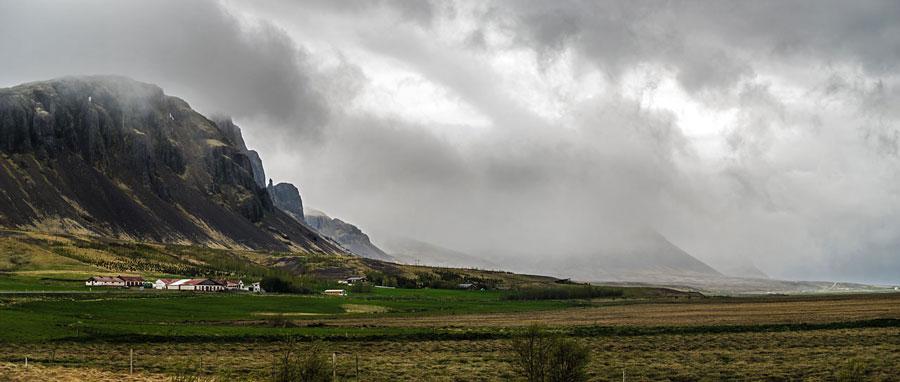Исландия день седьмой. Панорама вдоль дороги