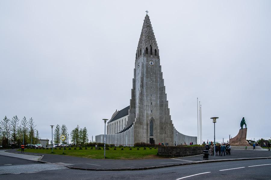 Исландия день седьмой. Рейкьявик, церковь Хатльгримскиркья