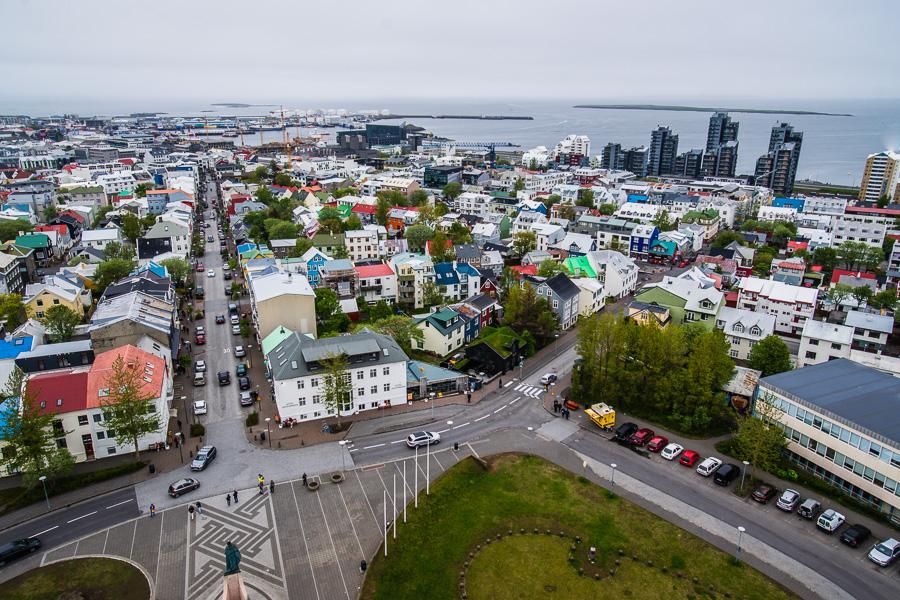 Исландия день седьмой. Вид с Хатльгримскиркьи