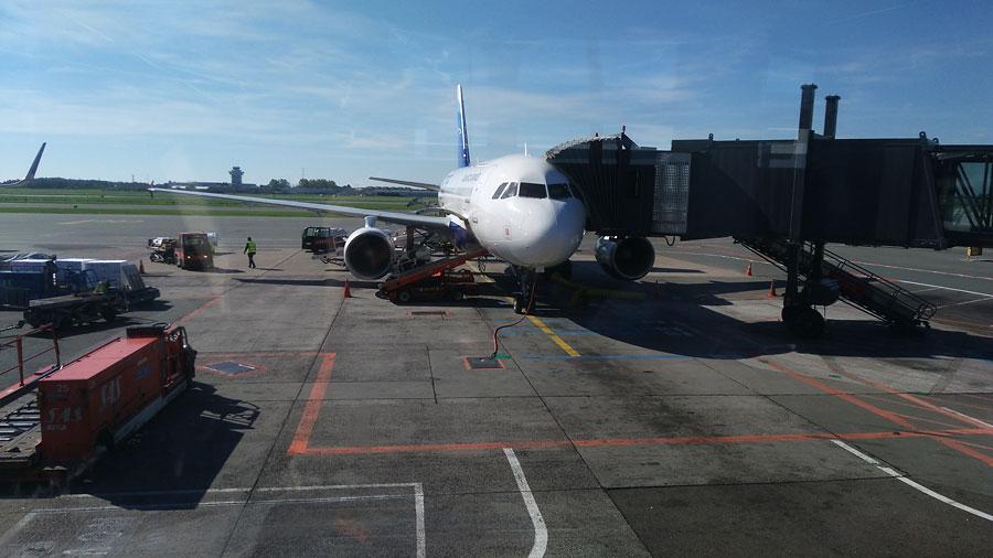 Фареры, подготовка|Самолет Atlantic Airways в Копенгагене