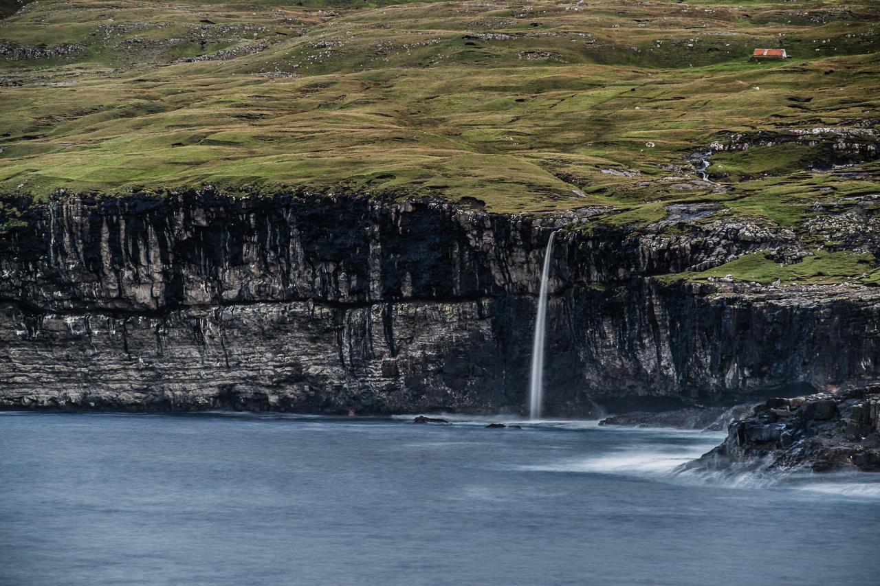 Фареры, день 2 1154|Безымянный водопад около Айи