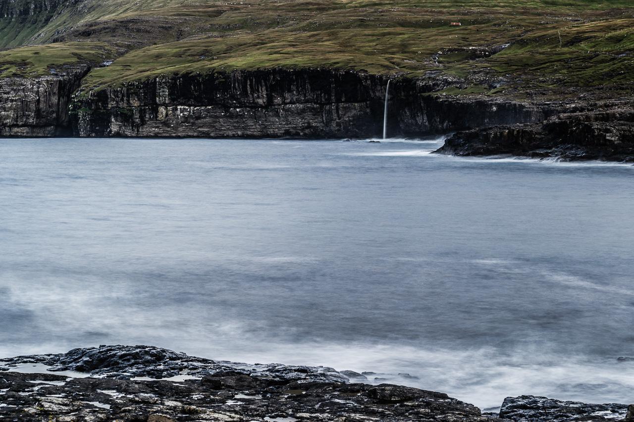 Фареры, день 2 1159|Безымянный водопад около Айи