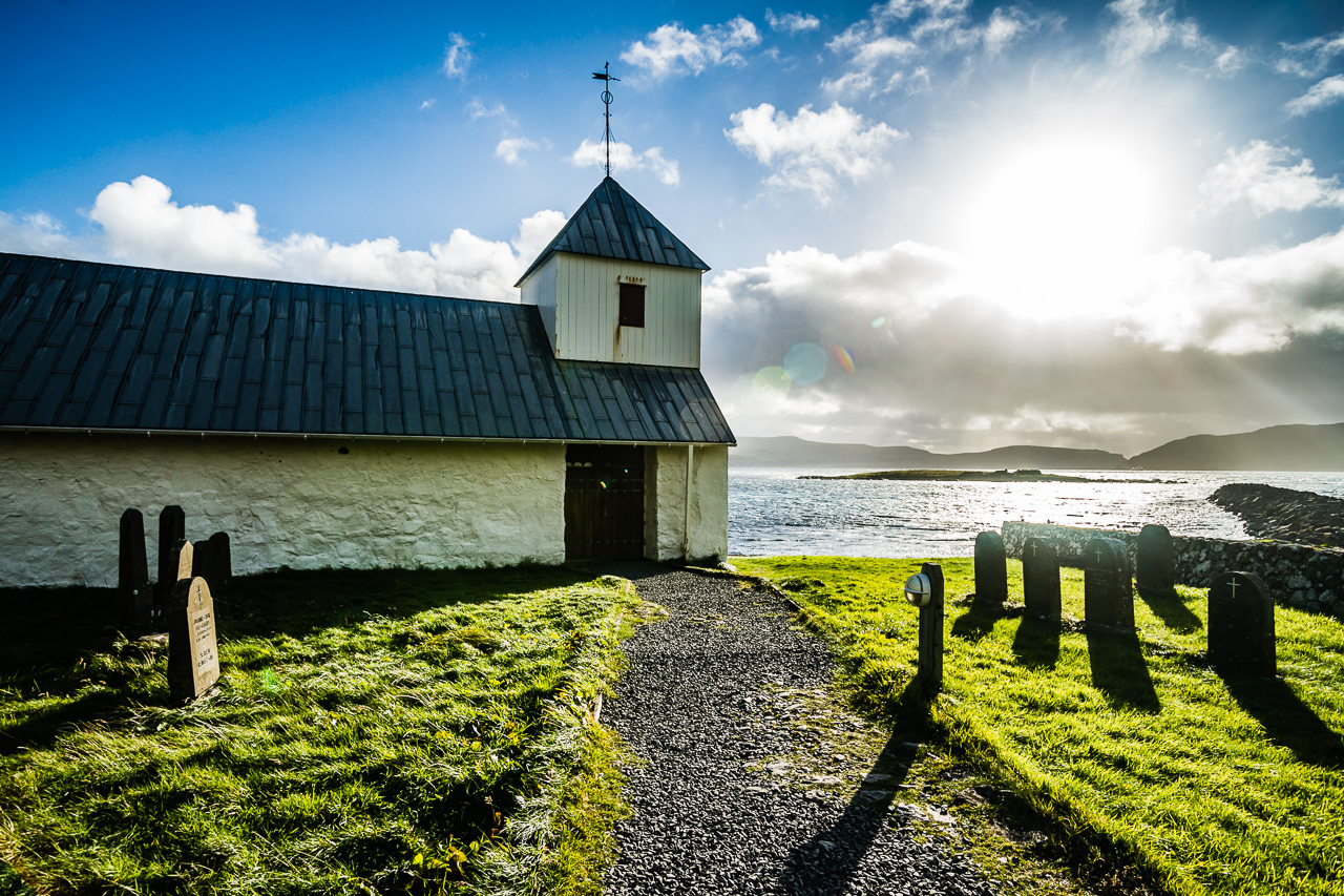 Фареры, день 4 1452|Церковь в Киркьюбоуре