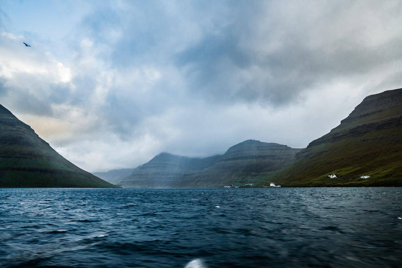 Фареры, день 5 1468|Вид на фьорд с парома