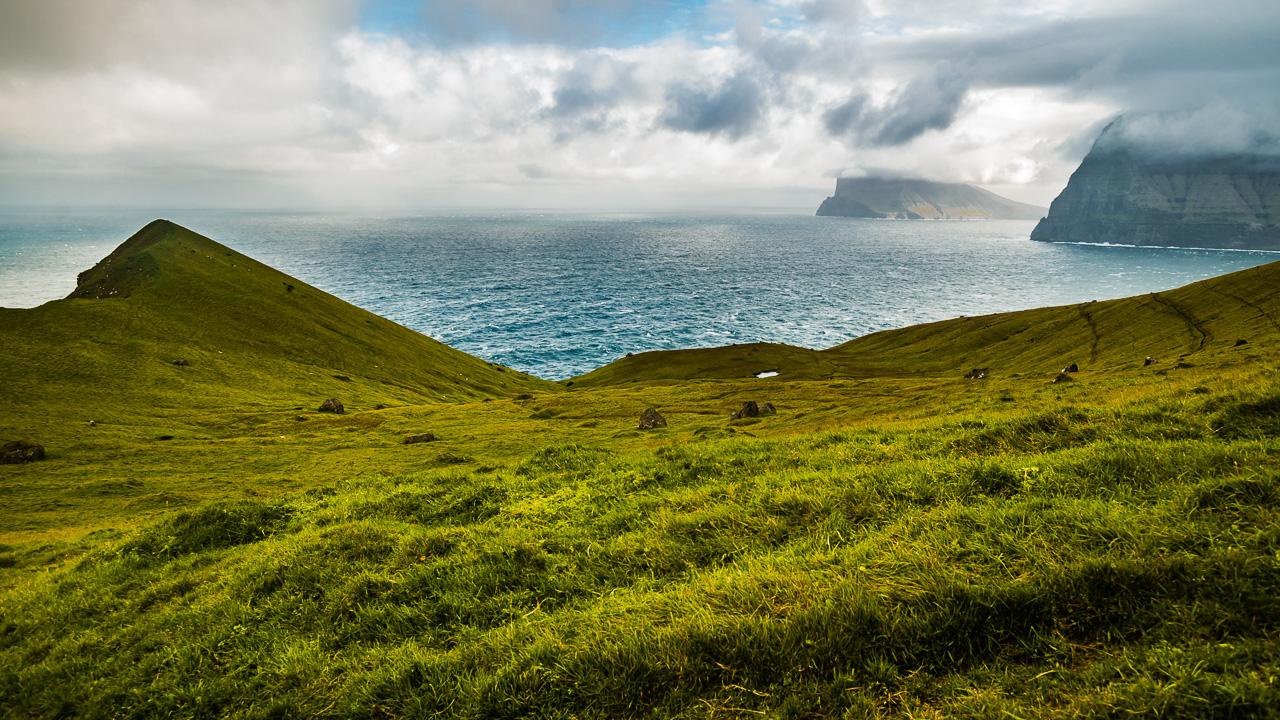 Фареры, день 5 1580|Вид на океан на обратной дороге