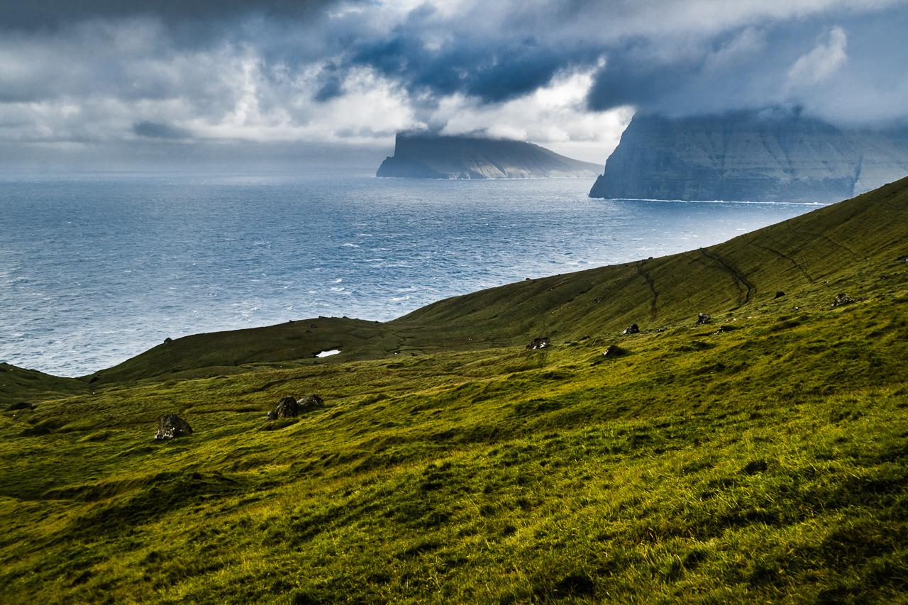 Фареры, день 5 1588|Вид на океан на обратной дороге
