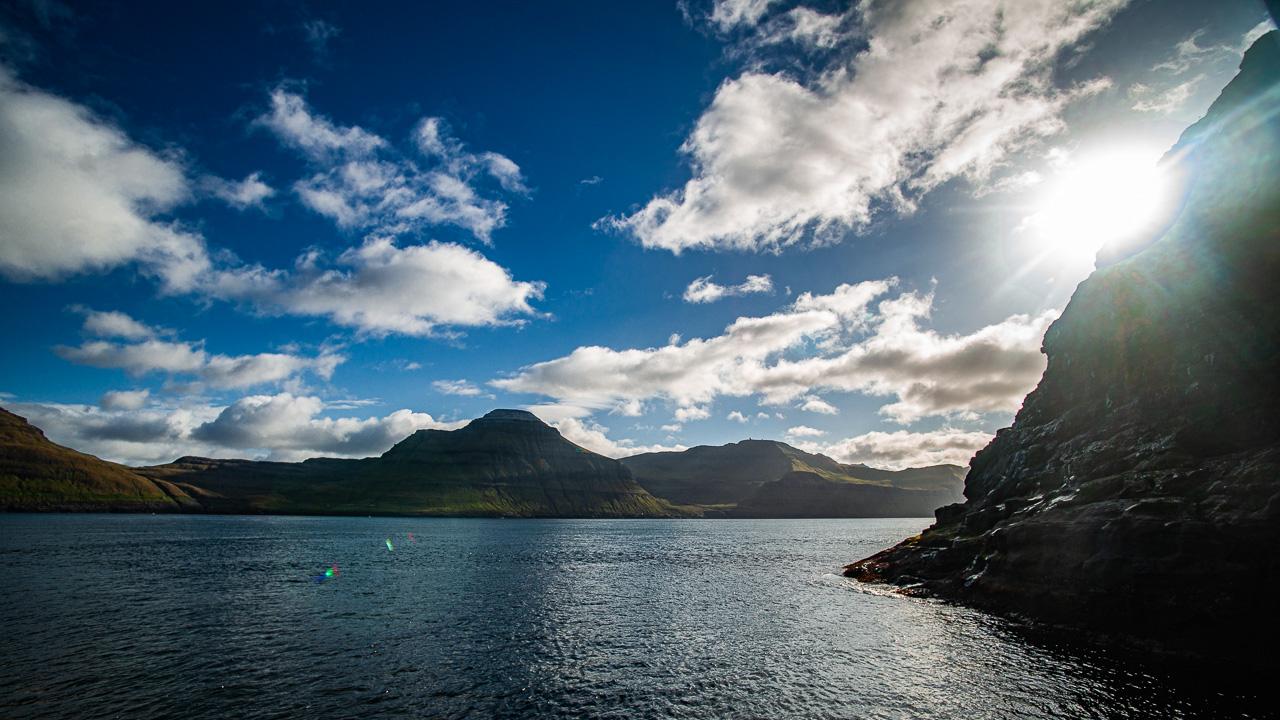 Фареры, день 6 1695|Фьорд с катера
