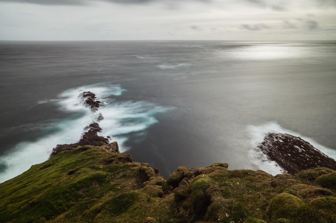 Фареры, день 7 2150 Океан и длинная выдержка